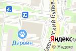 Схема проезда до компании Шатл в Москве