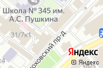 Схема проезда до компании Iwant.su в Москве