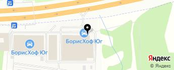 Борисхоф на карте Москвы