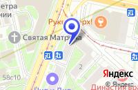 Схема проезда до компании ПТФ ВИВАСАН в Москве