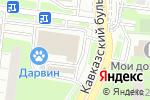Схема проезда до компании Лиза в Москве