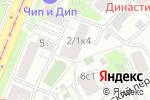 Схема проезда до компании Хвостус в Москве