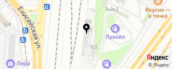 AudioParts на карте Москвы