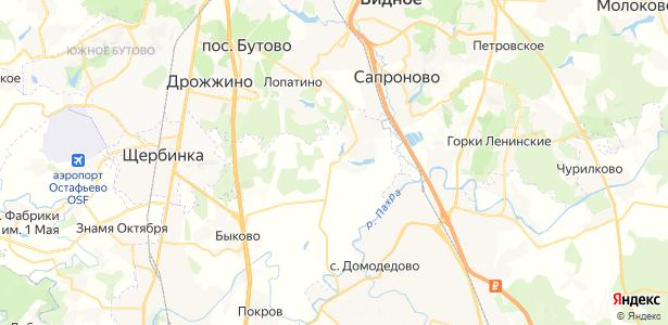 Яковлево на карте