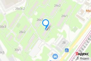 Снять однокомнатную квартиру в Москве Каспийская ул., 26к1