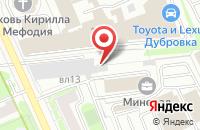 Схема проезда до компании Вокс Аэтэрна в Москве