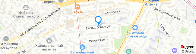 Библиотечная улица