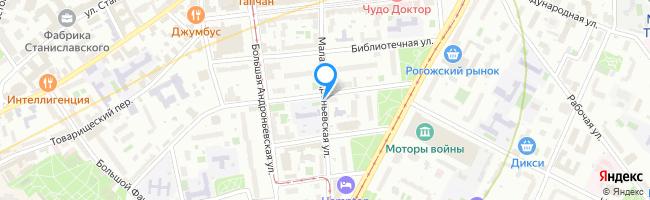 Малая Андроньевская улица
