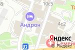 Схема проезда до компании Мирофарм в Москве