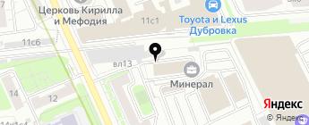 4СarAudio на карте Москвы
