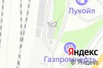Схема проезда до компании ЕВРОФРУКТ в Москве