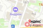 Схема проезда до компании Лекс-Эксперт в Москве