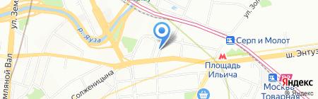 Heline на карте Москвы