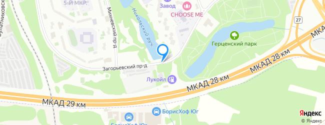 Загорьевский проезд