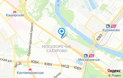 Местоположение на карте пункта техосмотра по адресу г Москва, ш Каширское, д 41 стр 2