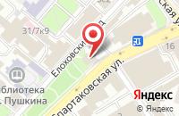 Схема проезда до компании Б.А.М. Липецк в Москве