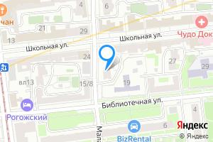Сдается комната в двухкомнатной квартире в Москве Библиотечная ул., 17