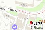 Схема проезда до компании ТОЧКА ПСИ в Москве