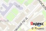 Схема проезда до компании LawRange в Москве