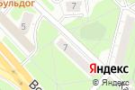 Схема проезда до компании Малышок в Москве