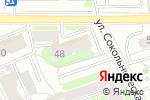 Схема проезда до компании Вираж в Москве