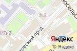 Схема проезда до компании Law Range Partners group в Москве