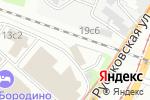 Схема проезда до компании Престиж Трэвэл в Москве