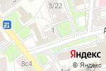 Схема проезда до компании Волшебная маска в Москве