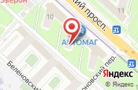 Схема проезда до компании Альфамонтан«. Бюро Горнотехнической Информации» в Москве