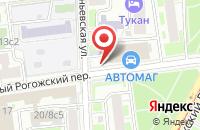 Схема проезда до компании Бизнес-Текстиль в Москве