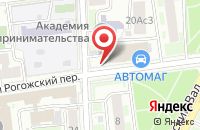 Схема проезда до компании Ликеби Крахмал в Москве