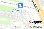 Схема проезда до компании Автостоянка №107 в Москве