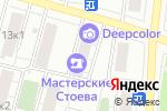 Схема проезда до компании Сила в Москве