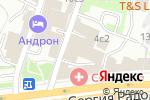 Схема проезда до компании Юрфинальянс в Москве