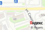 Схема проезда до компании Фигурист в Москве