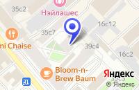 Схема проезда до компании СТРОИТЕЛЬНАЯ КОМПАНИЯ ОФС в Москве