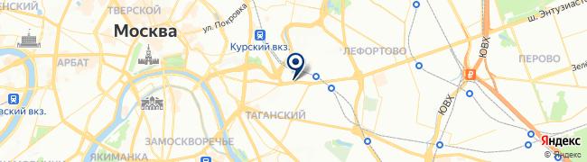 Расположение клиники Семейная на Площадь Ильича
