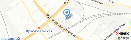 Транснет Интернешнл Логистикс на карте Москвы