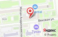 Схема проезда до компании Клякса в Москве
