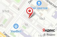 Схема проезда до компании Мерлин в Москве