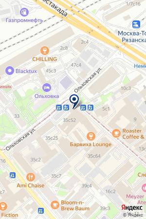 БАНК HOME CREDIT на карте Москвы