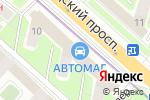 Схема проезда до компании Фабрика срочной химчистки и стирки белья №25 в Москве