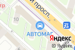 Схема проезда до компании КухниСити в Москве