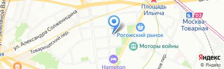 Структура живой воды на карте Москвы