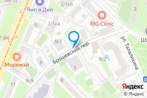 Снять двухкомнатную квартиру в Москве Брошевский пер.
