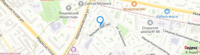 Брошевский переулок