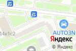 Схема проезда до компании Геодормаркет в Москве