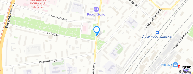 улица Лётчика Бабушкина