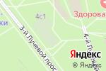 Схема проезда до компании Российский центр Крав-Мага в Москве