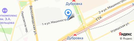 ВЕМИНА Авиапрестиж на карте Москвы